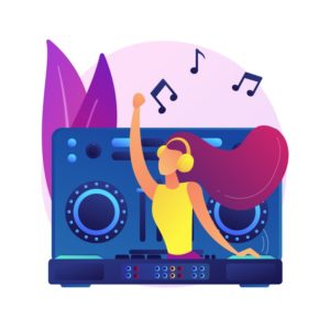 electronic-music-abstract-concept-illustration-dj-set-school-course-book-live-performance-electronic-music-genres-night-club-party-outdoor-festival-rave-culture_335657-602